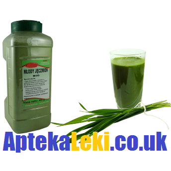 green barley plus de