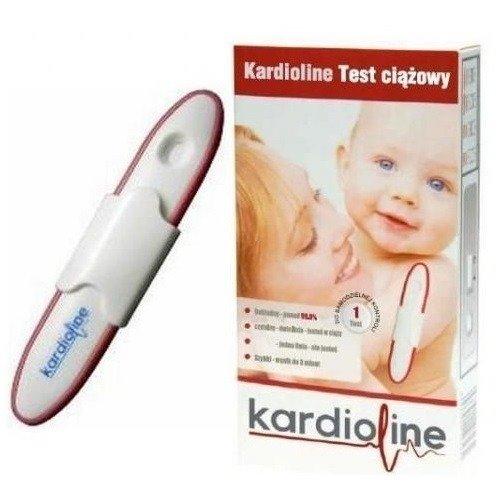 0944f029054423 KardioLine, TEST ciążowy, 1 szt. | Ciąża, poród i dziecko \ Płodność ...
