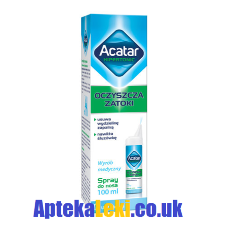 Acatar Hipertonic, Spray do nosa, 100 ml.