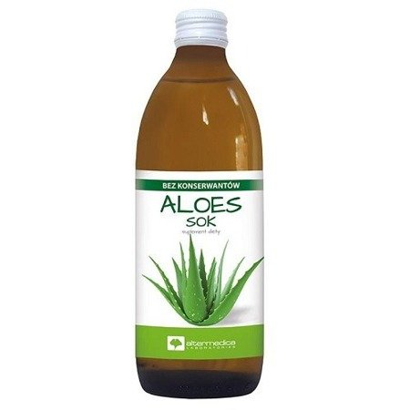 Aloes - SOK z aloesu, 1000 ml.(AlterMedica)
