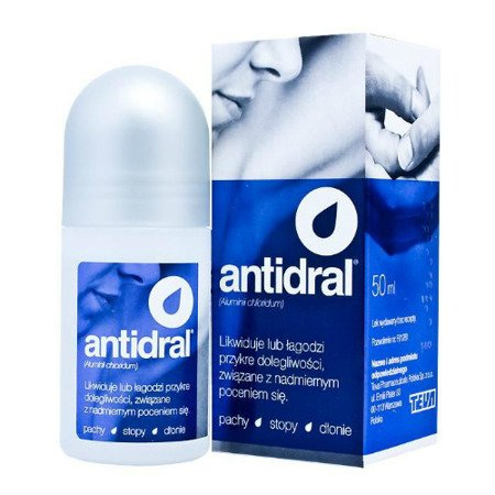Antidral - antyperspirant, regulator pocenia, 50 ml.