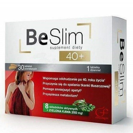 Be Slim 40+, 30 tabletek.