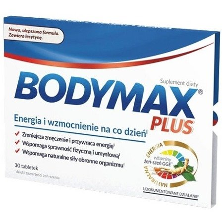 Bodymax Plus, 30 tabletek.