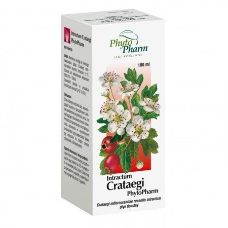 Crataegi Intractum, 100 ml.(Phyto Pharm)
