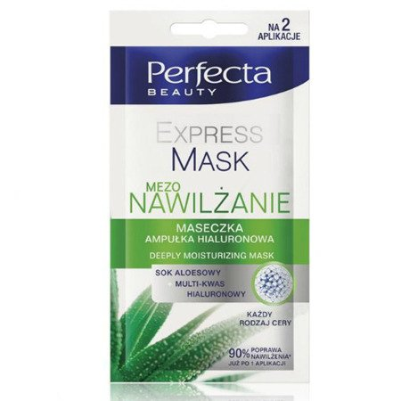 DAX - Perfecta Beauty - EXPRESS MASK MEZO NAWILŻENIE, 10 ml.