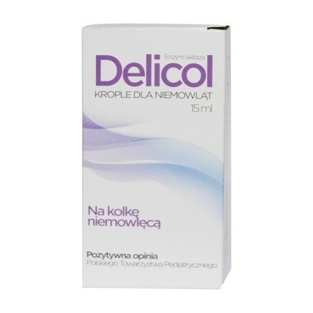 Delicol - KROPLE, 15 ml.