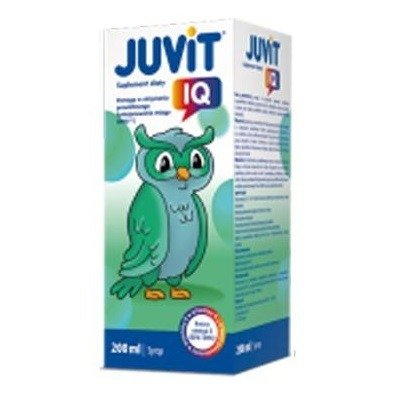 Juvit IQ, 200 ml.